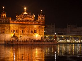 The golden temple Sikhism