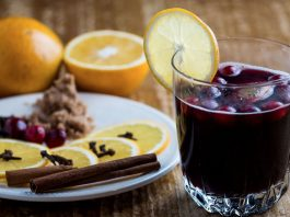 Indian spiced mulled wine