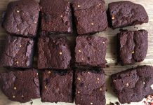 Chilli Chocolate Brownies