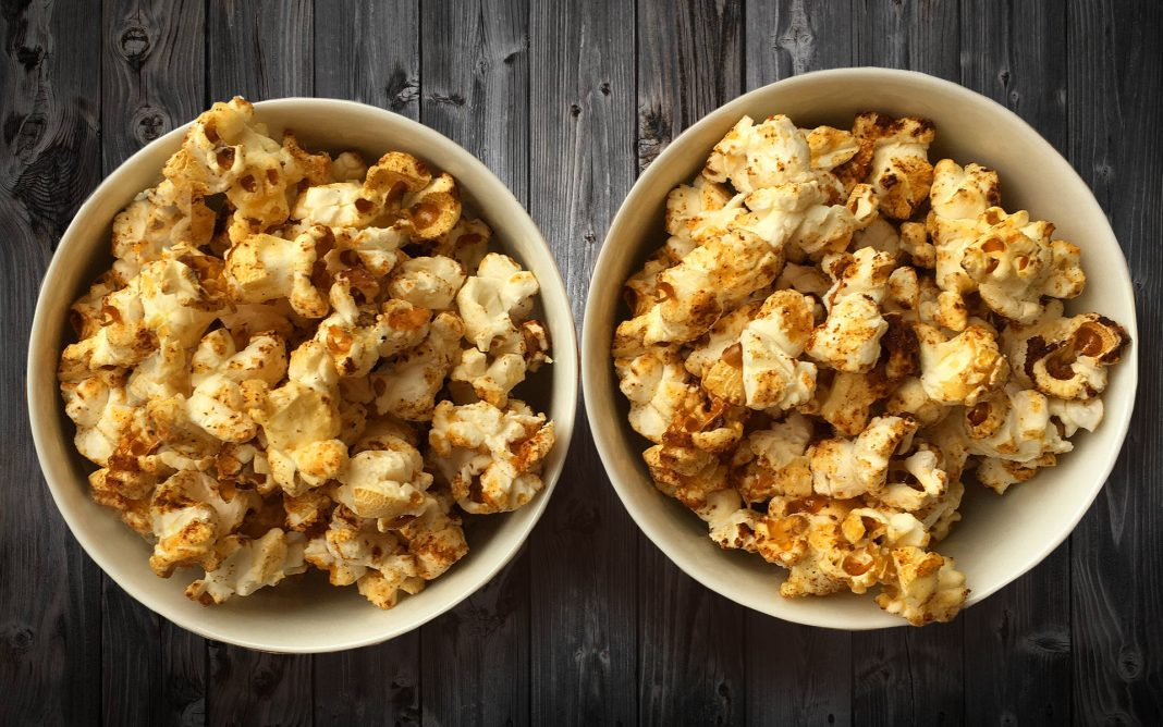 Honey spiced popcorn