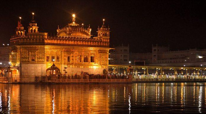 The golden temple Sikhism