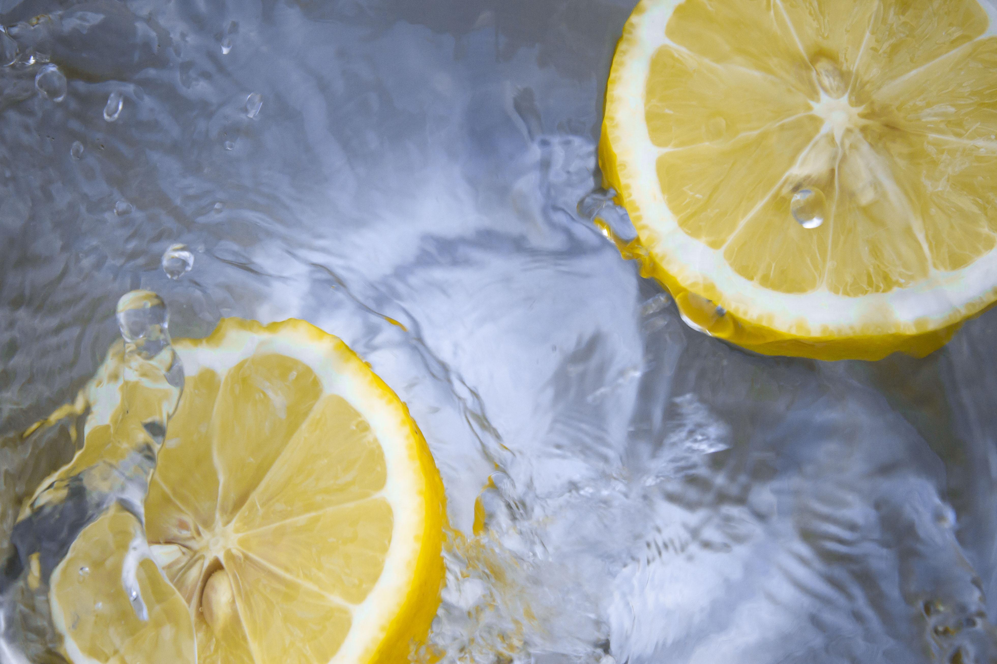 citrus flavoured water