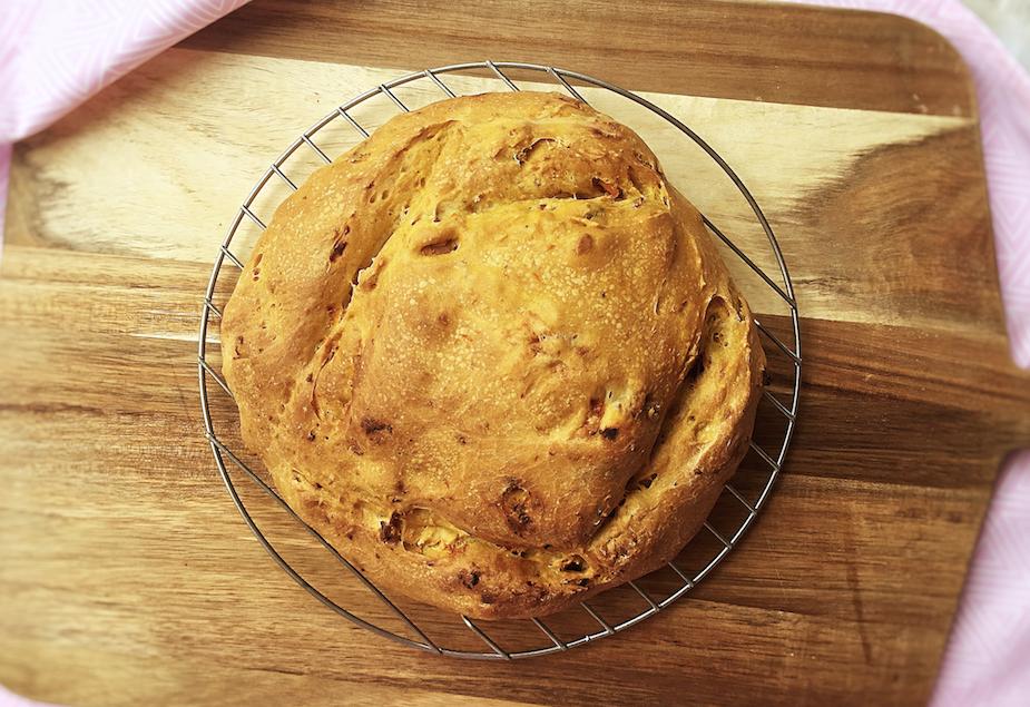 coriander and sweet potato bread recipe