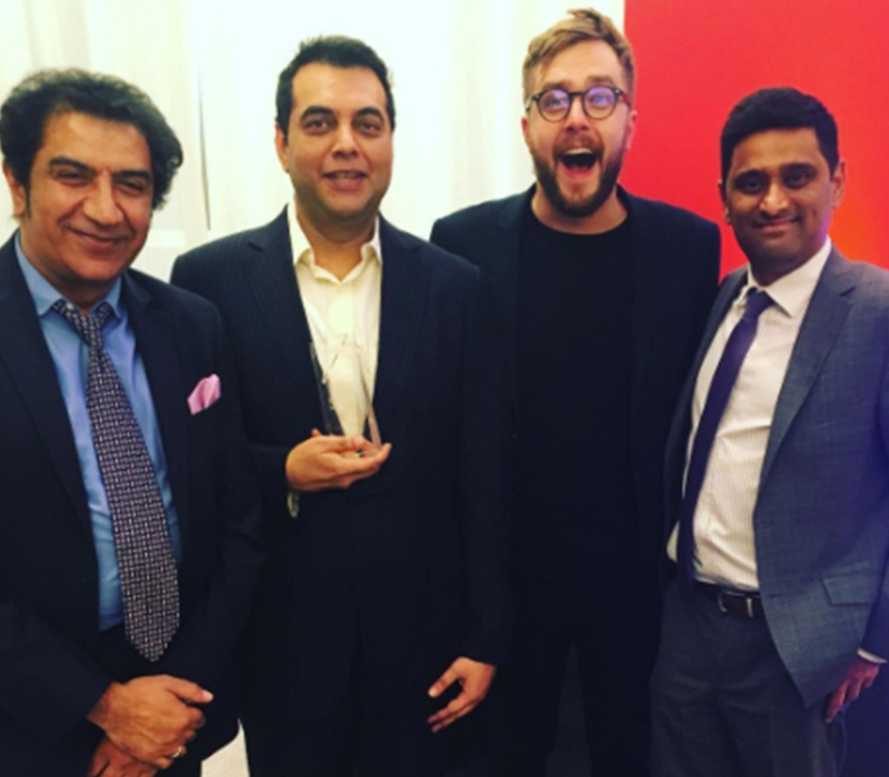 Kohinoor Joy Celebrate with Iain Stirling