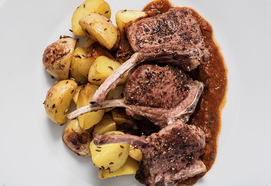 lamb chop bhuna