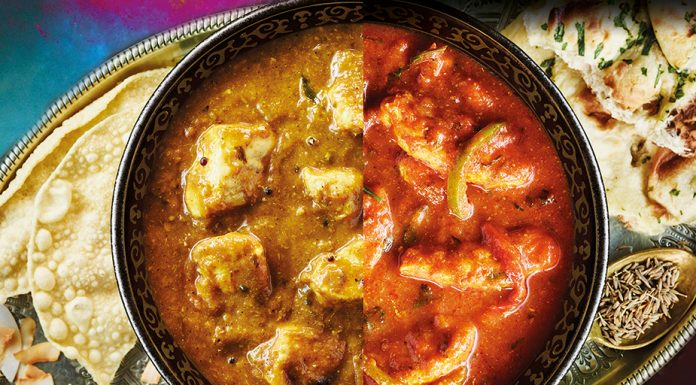 Jalfrezi and Madras