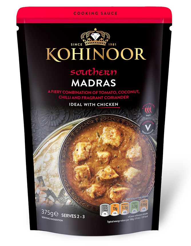 Madras Cooking Sauce