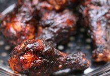 Spicy Kolhapuri Barbecued Chicken Recipe