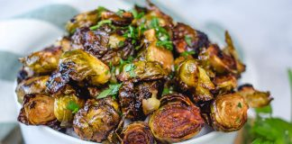 spicy brussel sprouts