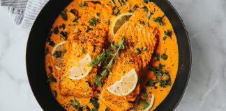 Salmon Butter Masala