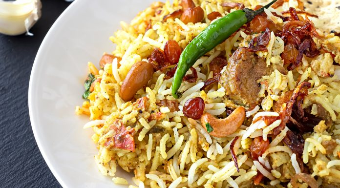 lamb biryani recipe